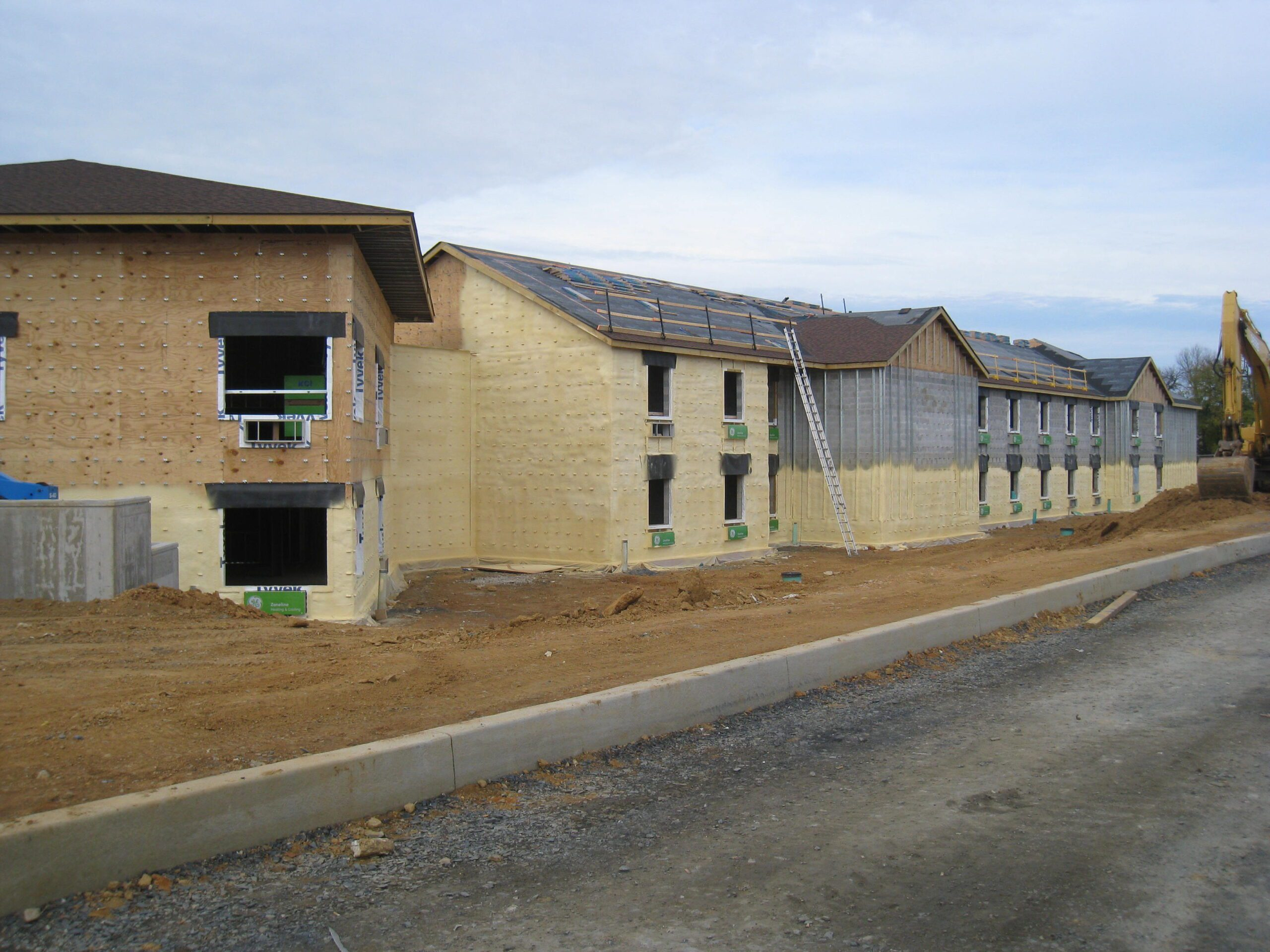 NCC Residence Hall, Iron Hill Construction, Spry Foam Insulation